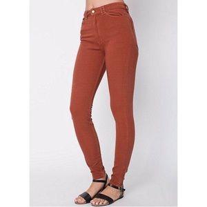 AA Four-Way Stretch High-Waist Side Zip Mom Jeans